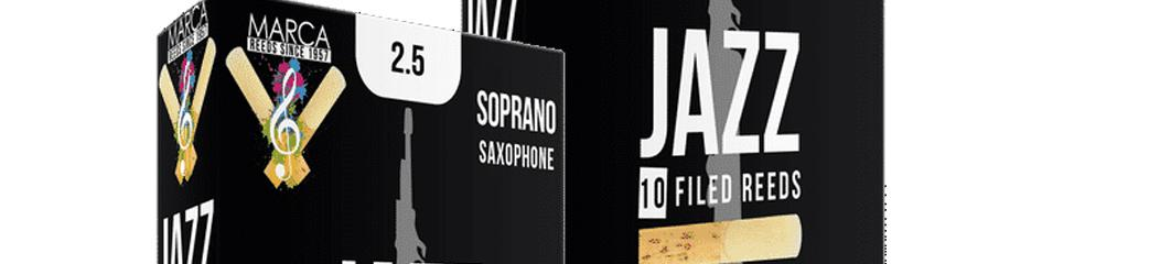 Anche sax Soprano Jazz Filed boite de 10