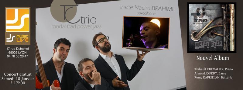 Concert TC TRio et Nacim Brahimi